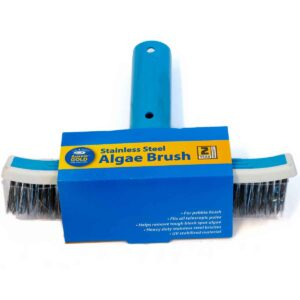 10-inch Stainless Steel Algae Brush
