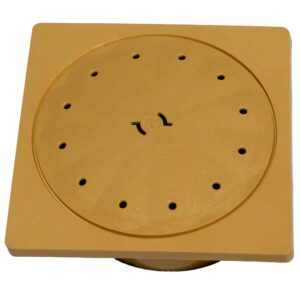 Deck lid and Dressing ring – Beige Square