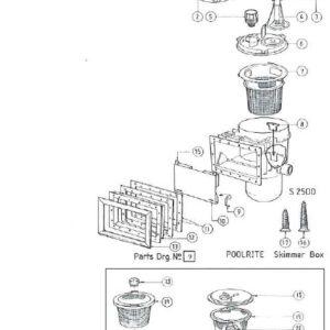 Auto Control Valve for Poolrite S2500 Vacuum Plate